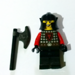 Lego Dragon Knight  missing tooth 2013 minifigure